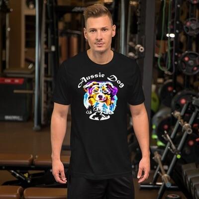 Australian Shepherd Short-Sleeve Unisex T-Shirt