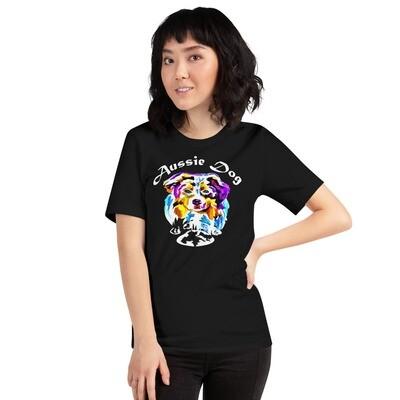 Aussie Dog Short-Sleeve Unisex T-Shirt