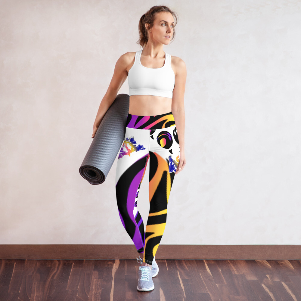 Aussie Dog All-Over Print Yoga Leggings