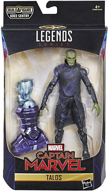 Captain Marvel Legends Talos Skrull Figur