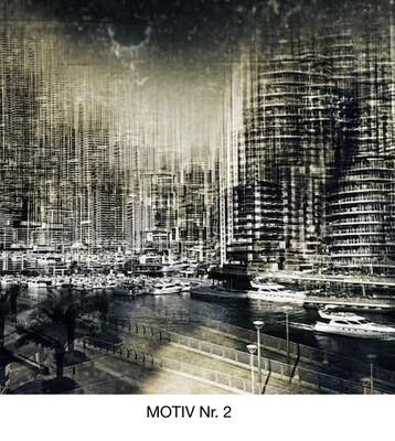 Wandbild auf Alu-Dibond Qualitäts- Direktdruck, 8 Motive zur Auswahl