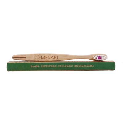 Cepillo de dientes de bambu Meraki. Adultos