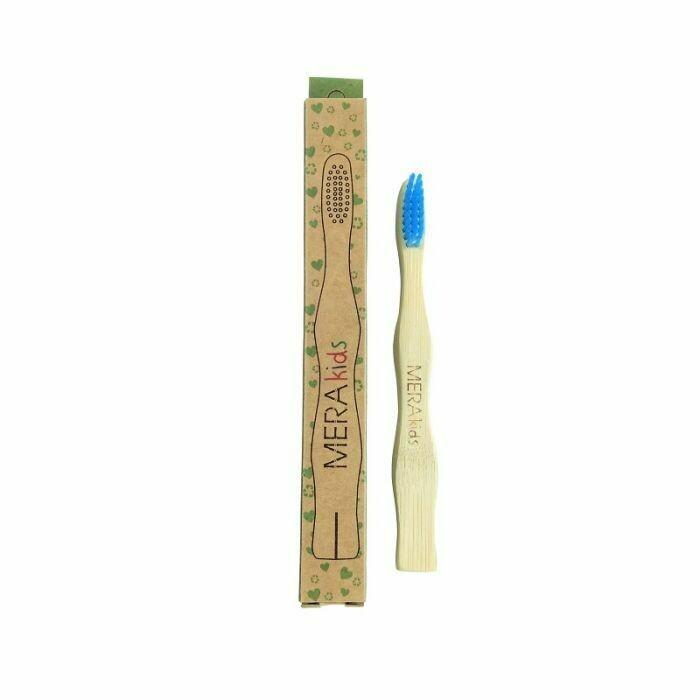 Cepillo de dientes de bambú Meraki. Niños