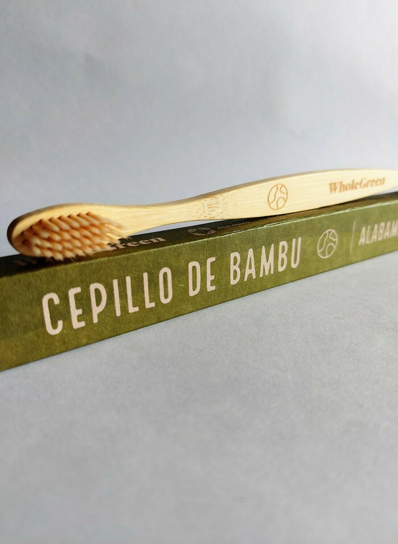 Cepillo de dientes de bambu Adultos Whole Green