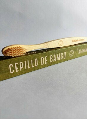 Cepillo de dientes de bambu Whole Green