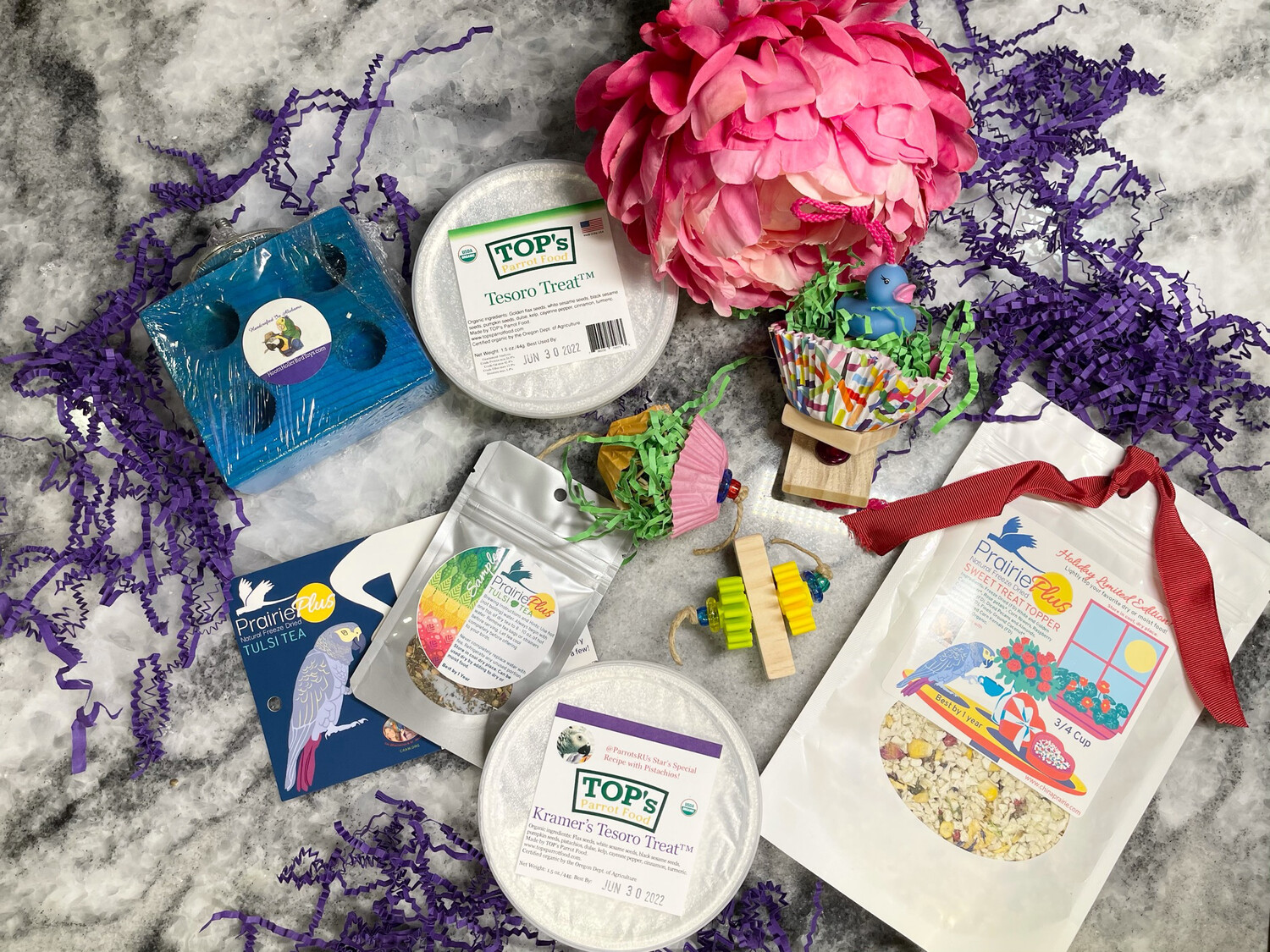 SNACK & PLAY Bundles For MINI and SMALL Birds