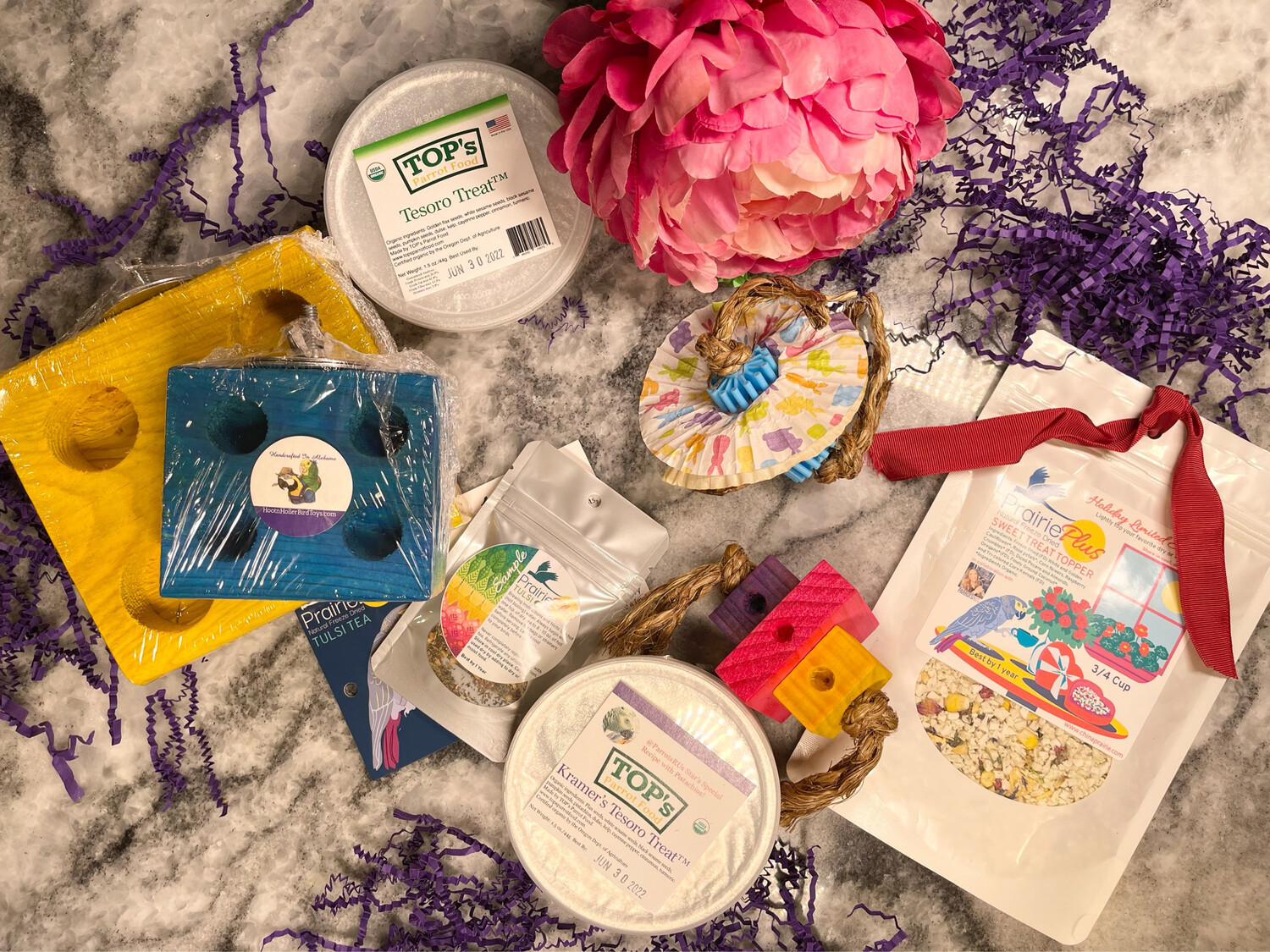 SNACK & PLAY Bundles For Medium and Large Birds