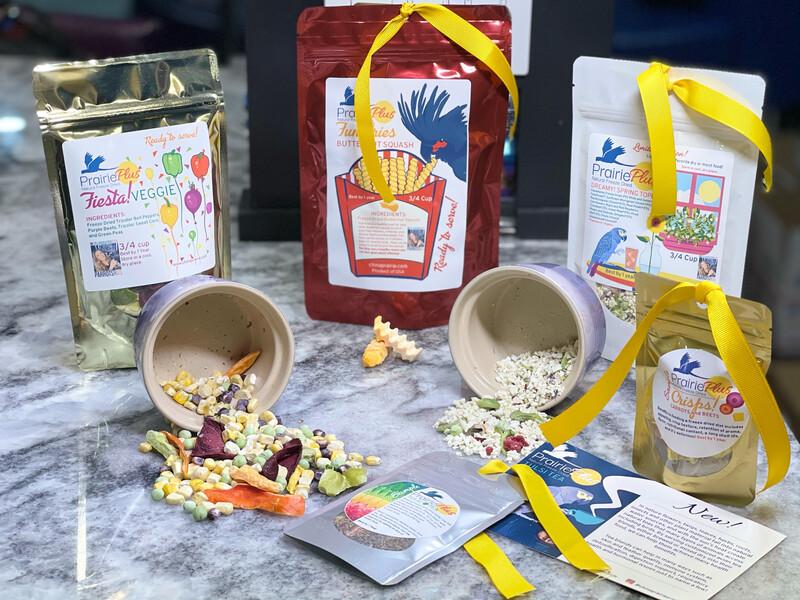 Fast Food Bucket Bundle - for Mini, Small and Medium Birds