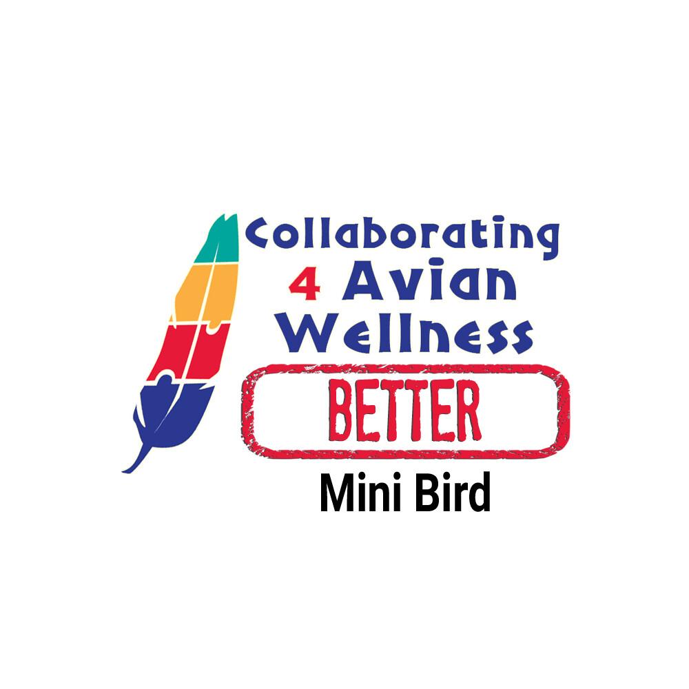 Thrive! Better Bird Box — Mini Birds - OPTION #2 (cockatiels, budgies, lovebirds, conures, parrotlets)