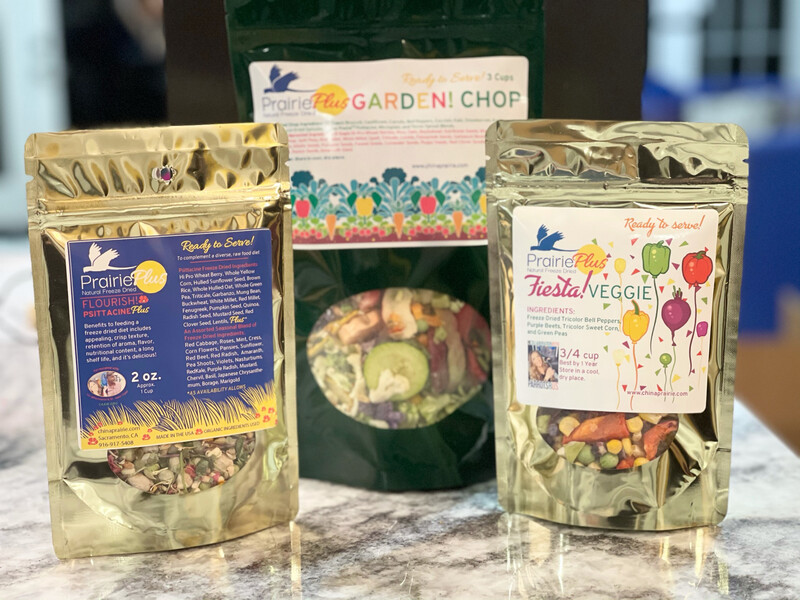 The Freeze Dried Chop Combo! - For All Size Birds