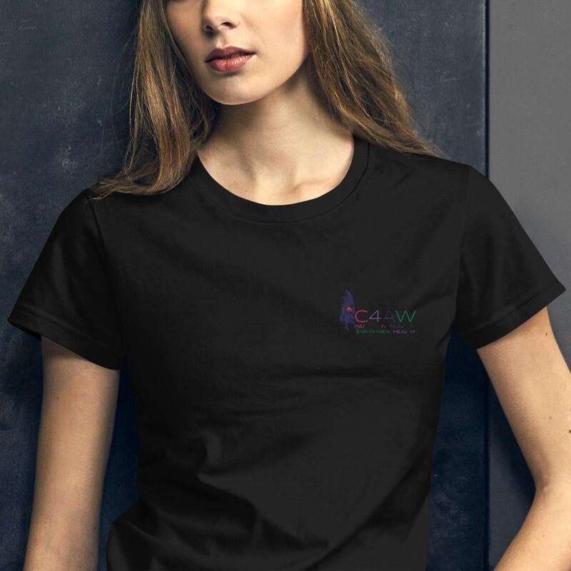 Maui / C4AW Logo Embroidered Women's short sleeve t-shirt