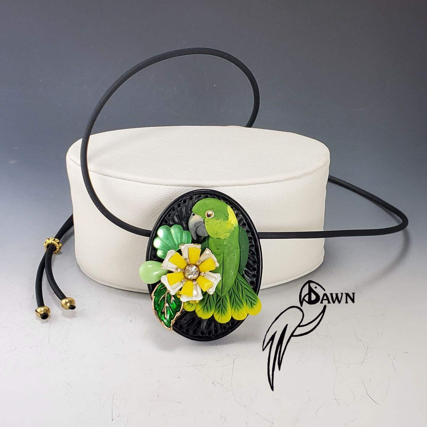 FIDs of Beauty Parrot Necklaces by Dawn