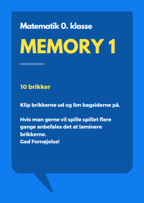 Memory 1 - vendespil