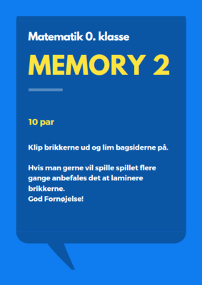 Memory 2 - vendespil