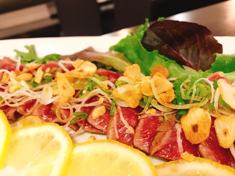 NY Steak Tataki