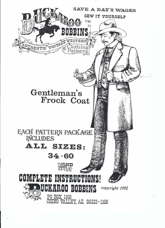 Gentleman's Frock Coat