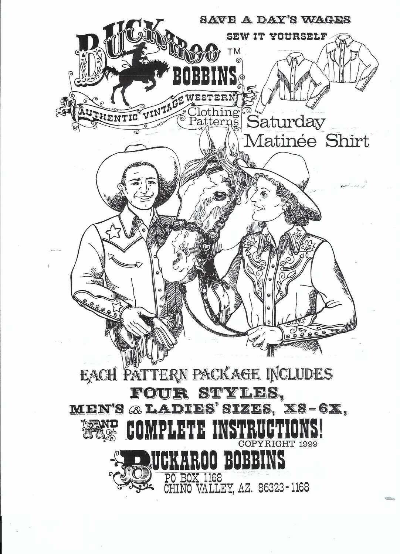 Saturday Matinee Shirt