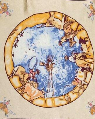 Ivory Windmill Limited Edition Silk Scarf