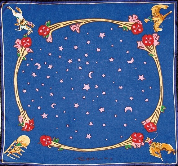 Blue Rodeo Girls Limited Edition Silk Scarf