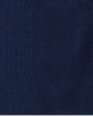 Navy Solid Silk Scarf