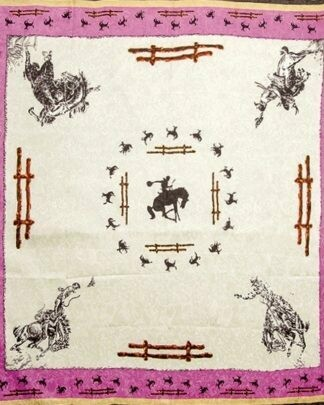 Limited Edition Ivory Fence Silk Scarf