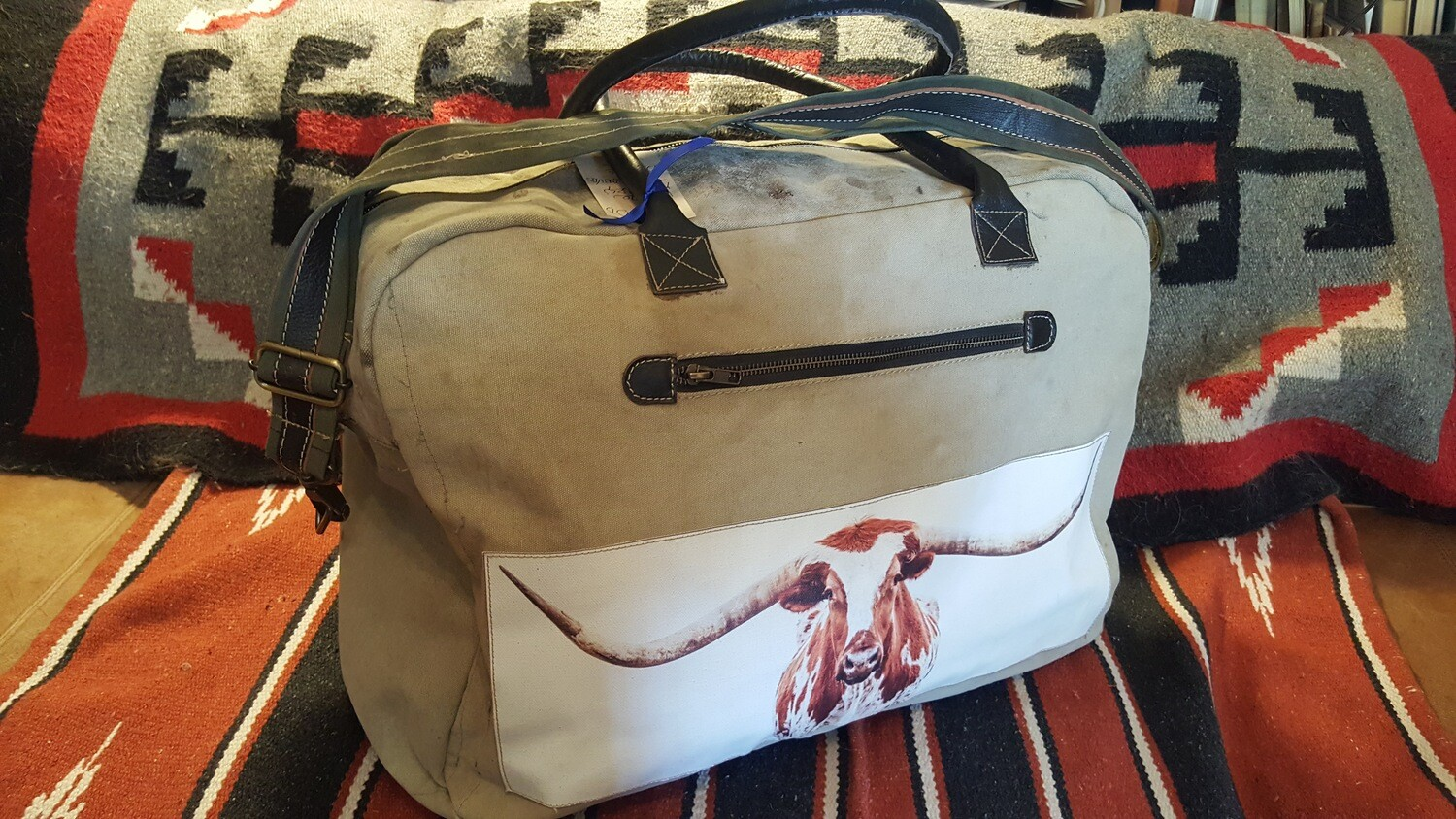 Longhorn Duffle Bag SOLD OUT