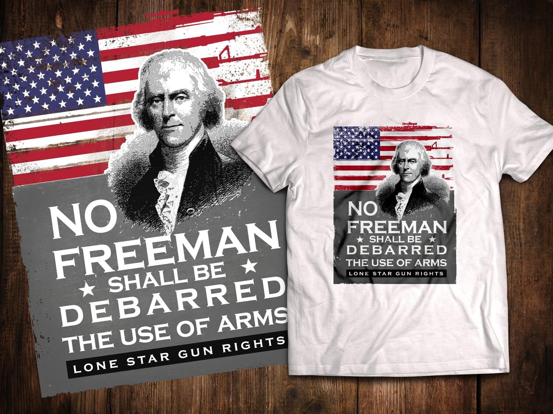 Jefferson Debarred T-Shirt