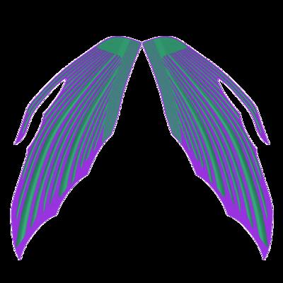 臀鰭 - 420 X 143 mm