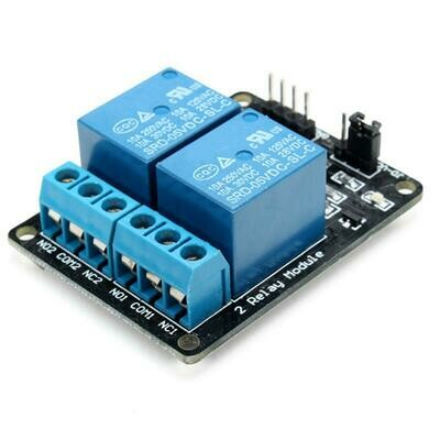2 Channel Relay Module (5V) for Arduino