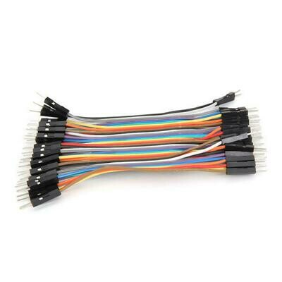 40 Ways Male to Male Jumper Wire for Arduino