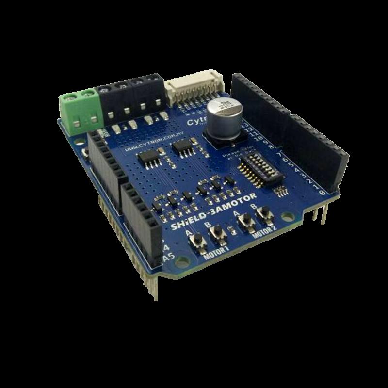 1.2Amp 7V-30V DC Motor Driver Shield for Arduino (2 Channels)