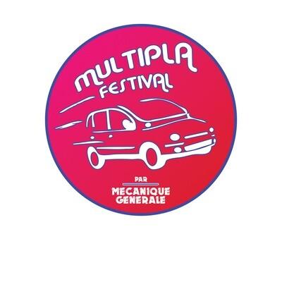 Sticker Multipla 7,6cm