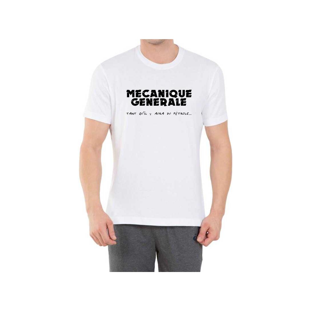 T-Shirt MGMC Blanc