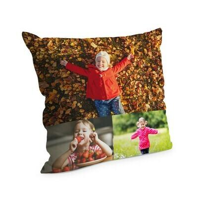 Cuscino con foto 38x38 cm Full Collage 3 Foto