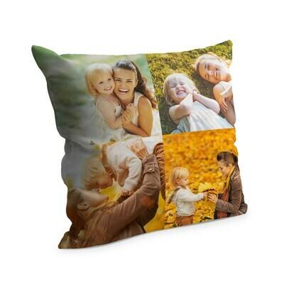 Cuscino con foto 38x38 cm Full Collage 4 Foto