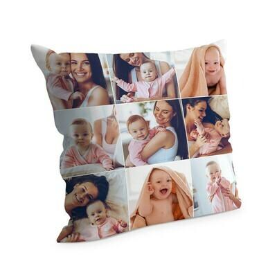 Cuscino con foto 38x38 cm Full Collage 3 Colonne