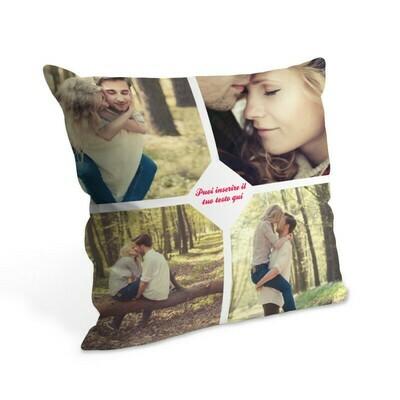 Cuscino con foto 38x38 cm Full Inglese