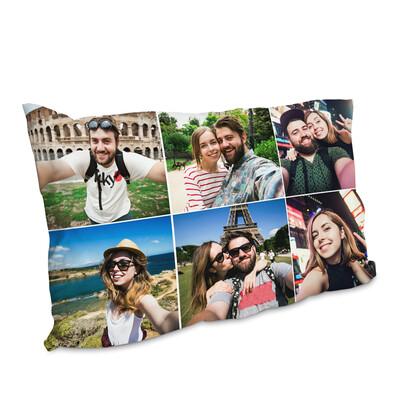 Federa per guanciale personalizzato Collage 3 Colonne
