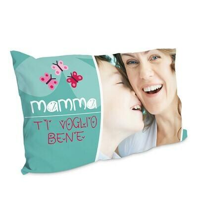 Federa per guanciale personalizzato Ti Voglio Bene Mamma
