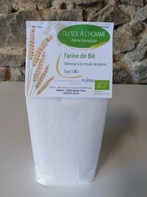 xx Farine de blé T80