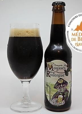 """xxx Bière Brune """"Bulle des Mines"""" (33 cl)"""