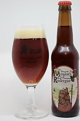 """xxx Bière Rousse """"Bulle de Feu"""" (33 cl)"""
