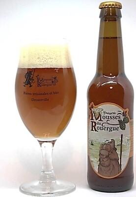 """xxx Bière Triple """"Bulle des Ruches"""" (33 cl)"""