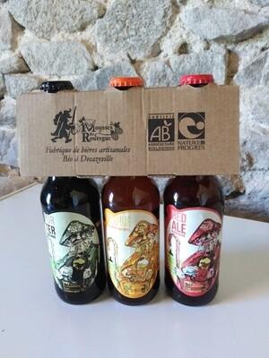 xxx Pack découverte 3 bières