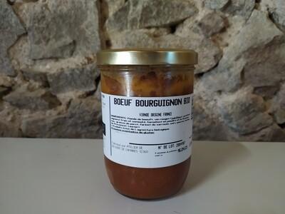 xx Boeuf bourguignon, (750 gr)