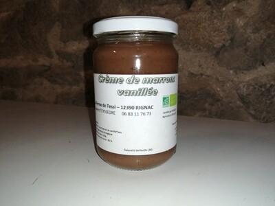 xx Crème de marrons vanillée, (les 360 gr)