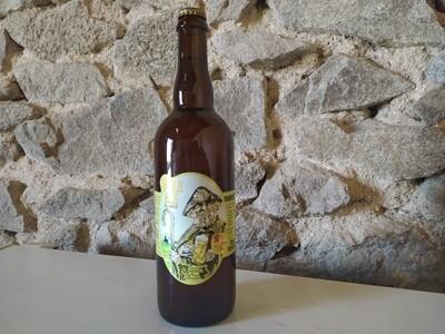 """xxx Bière Blonde """"Bulle des champs"""" (75 cl)"""