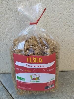 xx Pâtes paysannes Fusilis, (les 500 gr)