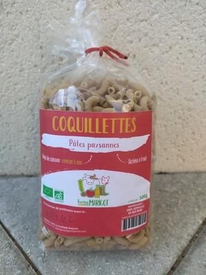 xx Pâtes paysannes Coquillettes, (les 500 gr)