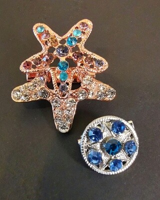 Stars Princess Brooch and Pin